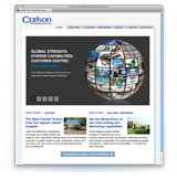 A New Web Site Design for Carlson Tool created by a Milwaukee Advertising Agency