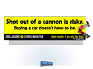 Don Jacobs Automotive Dealer Billboard - Cannon by Milwaukee ad agency