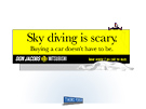 Don Jacobs Billboard - Parachuting by Milwaukee ad agency