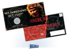 Florentine Opera MacBeth Direct Mail Piece designed by Milwaukee Ad Agencies