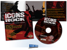 arley-Davidson Icons Rock Music CD created by Milwaukee ad agency