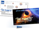 Milwaukee Symphony Orchestra Planets Direct Mailer designed by Milwaukee advertising agency